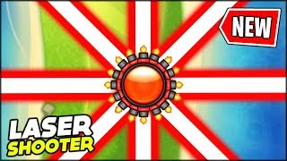 """BRAND NEW """"RING OF LASERS"""" UPGRADE FOR THE LASER MONKEY // Bloons TD Battles Mods"""