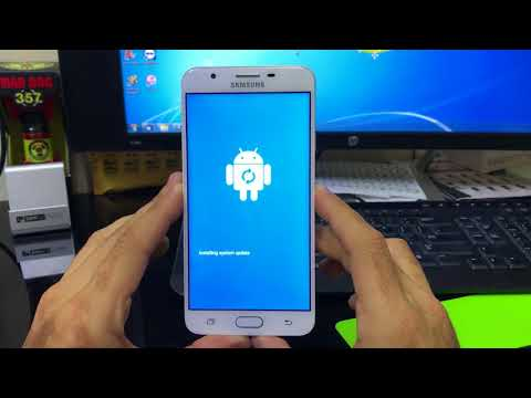 How To Reset Samsung Galaxy J7 Prime - Hard Reset