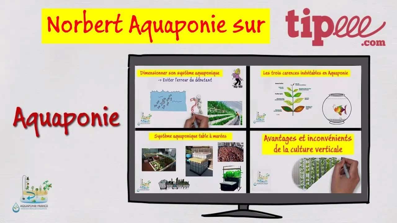 ???????? Tipeee - Norbert Aquaponie