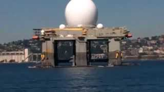 is the us navy deploying the haarp platform sbx 1 to hit north korea with earthquakes
