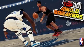 Top 10 Most DISRESPECTFUL Crossover & Ankle Breaker MOMENTS - NBA 2K19 #28