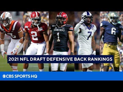 2021 NFL Draft Defensive Back Rankings | CBS Sports HQ