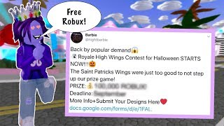 How To Get Up To 125,000 ROBUX FOR FREE! Roblox Royale High
