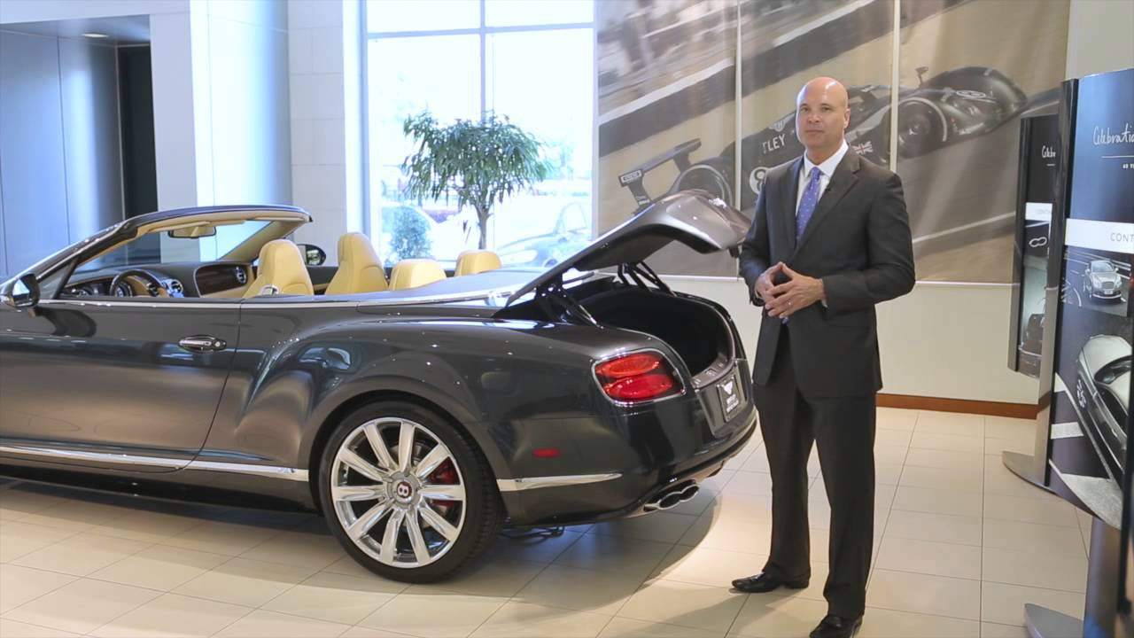 2015 Bentley Continental Gt V8 S Convertible Review Youtube