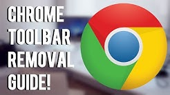 #YouTubers Of The Month! How To Remove A Toolbar/Search Engine From Google Chrome!