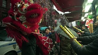 Lion dancer makes impact on Chinese Lunar New Year tradition
