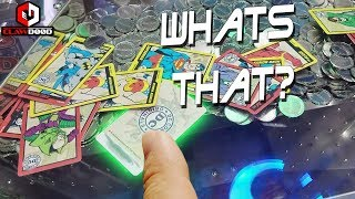 Game | Which Card Was That? DC Comics Coin Pusher Arcade Game at Round1 | Which Card Was That? DC Comics Coin Pusher Arcade Game at Round1