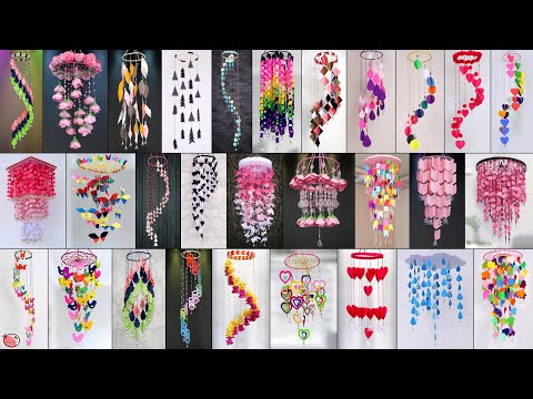 40 DIY Paper Wall Hanging Ideas !!!
