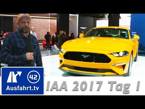 Seat CNG, Mazda Skyactiv X, Mercedes EQA, Ford, Kia, Opel - IAA 2017