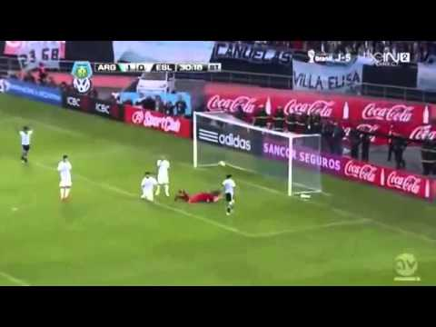 Lionel Messi Goal Argentina vs Slovenia 2-0 07-06-2014 HD