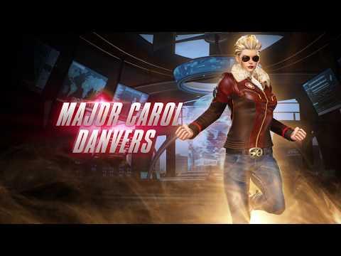 MARVEL VS. CAPCOM: INFINITE - PS4独占特典「キャロル・ダンバース少佐コスチューム」プレイトレーラー