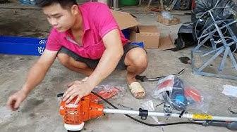 Đặt cọc 200 ngàn đồng máy phát cỏ huvana 236 R máy phát cỏ chính hãng giá rẻ 0989934922.0943296306