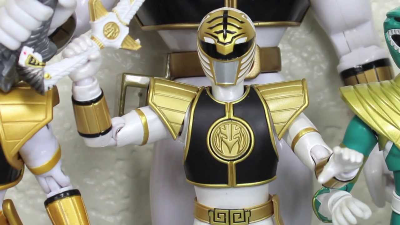 Mighty Morphin Power Rangers S.H. Figuarts White Ranger Bandai ...