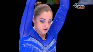 Aliya Mustafina becomes Balance Beam Champ - Universal Sports