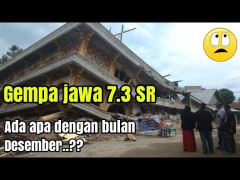 Detik-Detik guncangan Gempa 7.3 SR Tasikmalaya Sukabumi pulau jawa (16 desember 2017)