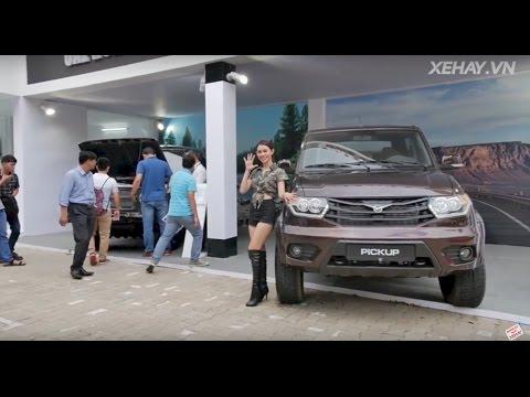 [XEHAY.VN] Huyền thoại UAZ trở lại Việt Nam với những mẫu xe mới nào?