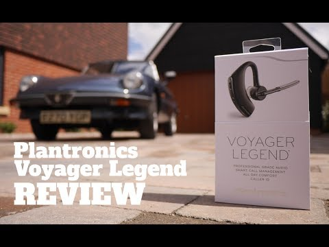 Take to the Road Product Reviews -  Plantronics Voyager Legend Bluetooth Headset