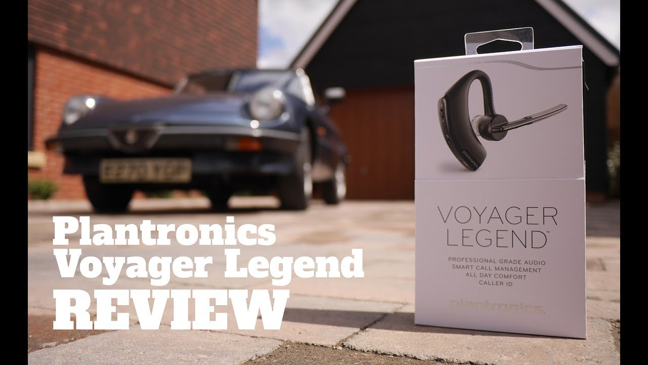 Take To The Road Product Reviews Plantronics Voyager Legend Bluetooth Headset Youtube