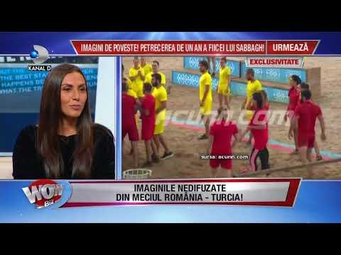 WOWBIZ (05.03.2018) - Imaginile nedifuzate din meciul Romania-Turcia! Partea 2