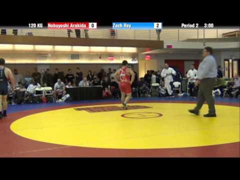 FS 120 KG   Nobuyoshi Arakida vs Zah Rey
