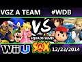 S@X - VGz A Team (Yellow) Vs. #WeDemBoys (Red) SSB4 Squads Winners Semis - Smash 4v4