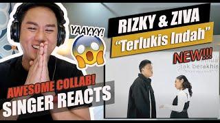 Download Rizky Febian, Ziva Magnolya - Terlukis Indah (Official Lyric Video)   SINGER REACTION