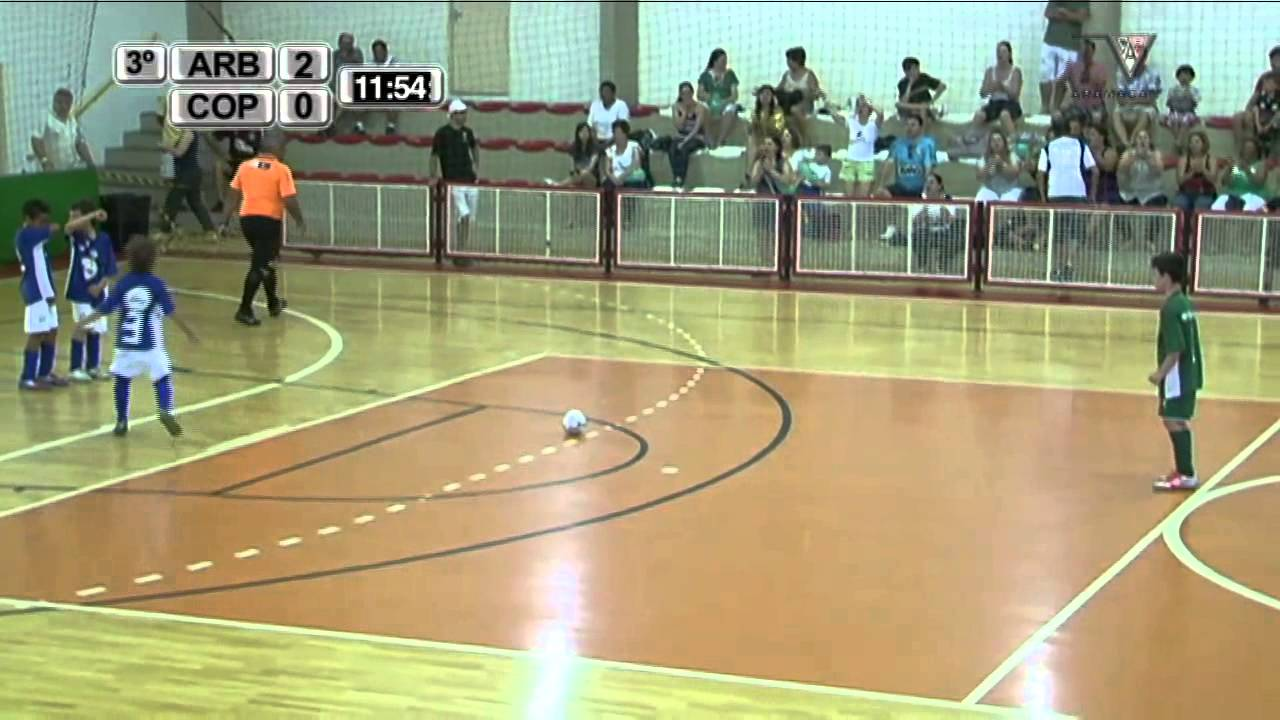 be1a35dbae Final Futsal Menores - Categoria Pré-Mirim - 3º Tempo - YouTube