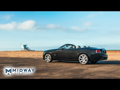 Our NEW Rolls Royce Dawn Review in 90 Seconds! (Midway Car Rental)