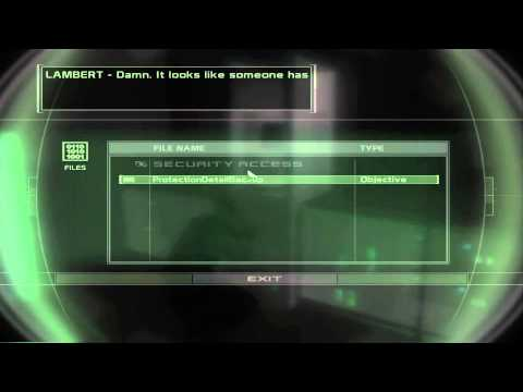 Let's Play Splinter Cell Chaos Theory 5 (Corporate Espionage, Super Secret War Criminal)