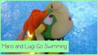 Mario And Luigi Go Swimming