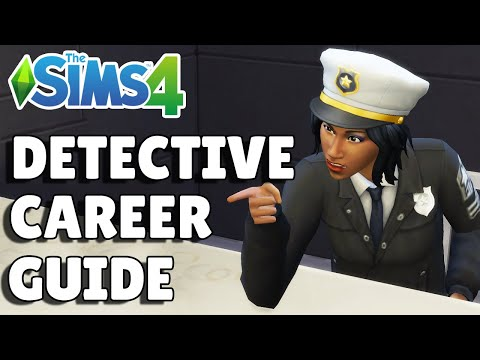 Complete Detective Career Guide   The Sims 4