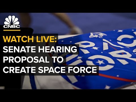 Senate Armed Services: 'Proposal For U.S. Space Force' -- April 11, 2019