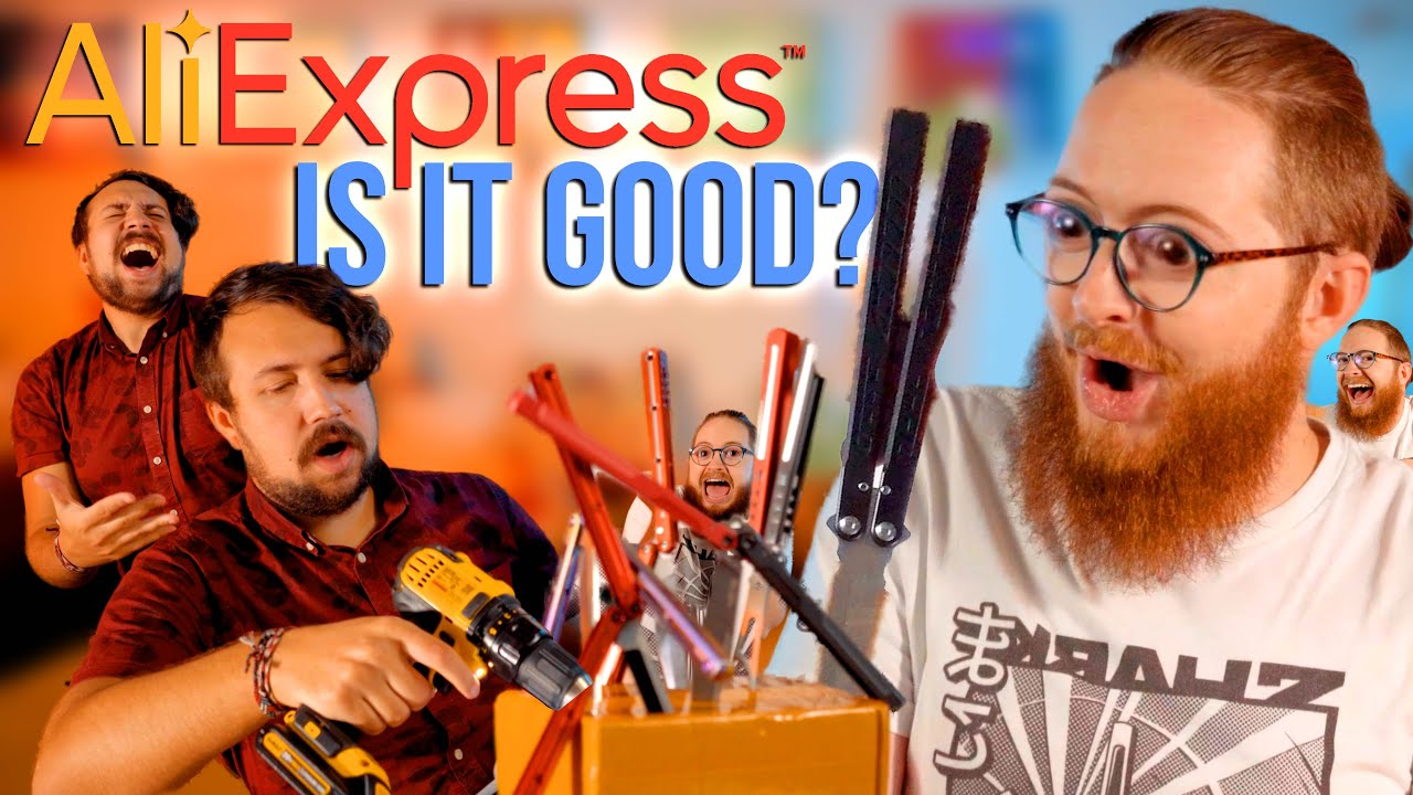 Download Unboxing Aliexpress Balisongs! Are They Good??