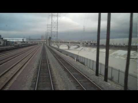 Train Leaving LAX Union Station to Chicago - Southwest Chief