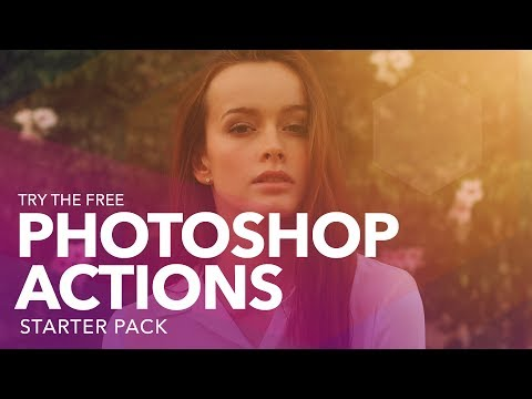 Try the FREE Photoshop Actions Starter Pack