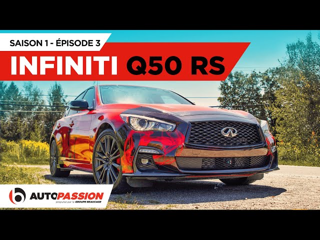 Infiniti Q50 Red Sport 400 — AutoPassion.TV — Épisode 3
