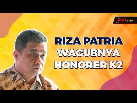 Honorer K2 Lega, Riza Patria Jadi Wagub DKI Jakarta
