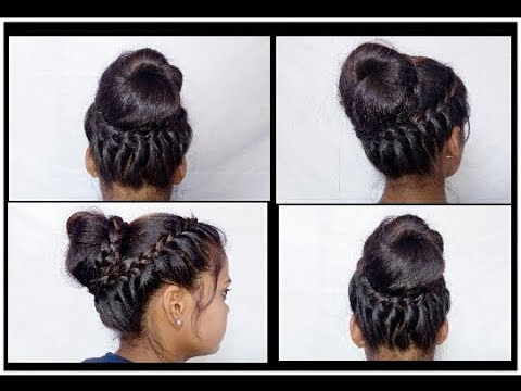 Juda hairstyle easy summer Juda everyday Juda bun wedding juda bridal Juda new Juda hairstyles ...