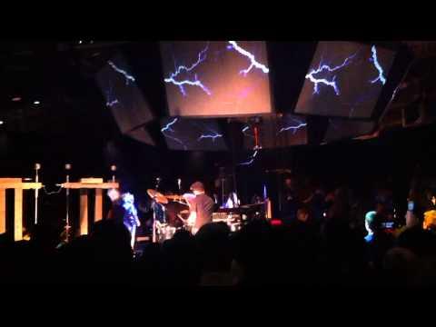 Bjork - Crazy finale with live Tesla Coil at Craneway in Richmond, CA