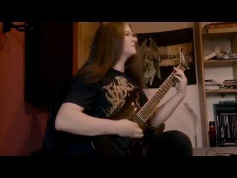 Coroner - Reborn Through Hate (FULL Guitar Cover + Solo) mp3