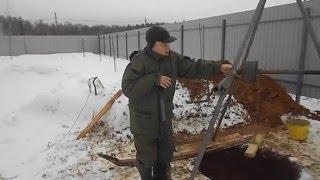 видео Копка или рытье колодцев