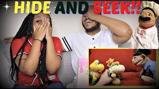 "SML Movie: ""Hide And Seek!"" REACTION!!!"