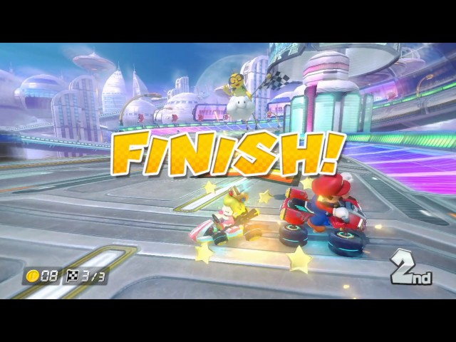 Wii U Longplay [006] Mario Kart 8 (Part 2 of 2) (DLC Courses)