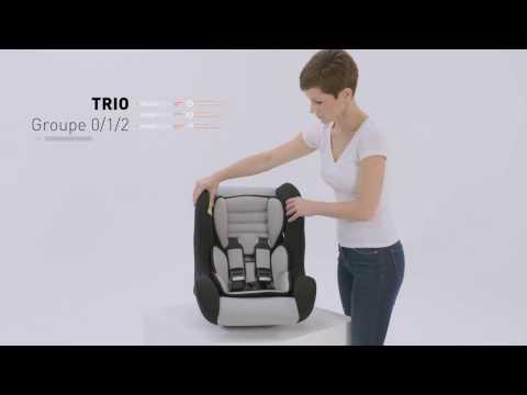 Siège-Auto TRIO - MyCarsit - Groupe 0/1/2 - Vidéo d'installation