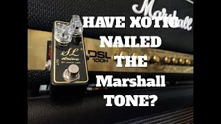 How Does The Xotic SL Drive Compare To A Marshall Amp?