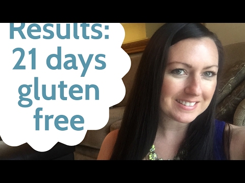 Results of going Gluten Free for 21 days  how much weight I lost and inches