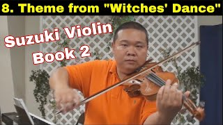"Suzuki Violin Book 2 - 08. Theme from ""Witches"