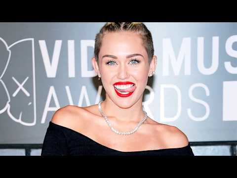Miley Cyrus Goes Completely Topless On Beach