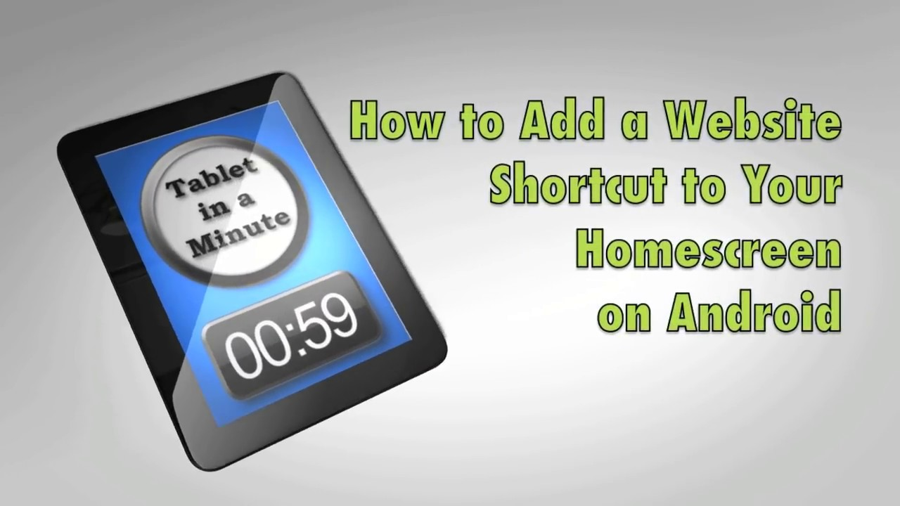 Phone Shortcut For Android Phone how to add a website shortcut your home screen on android youtube android