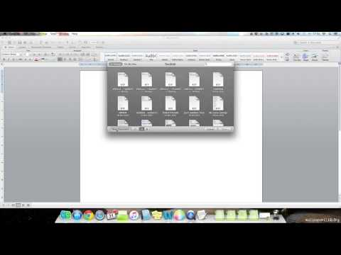 Mac OS X Shortcuts - Mission Control & The Delete Function